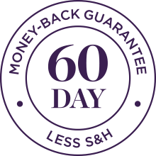 60 Day Money Back Guarantee Seal Image